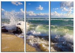 Triptik Breaking Waves