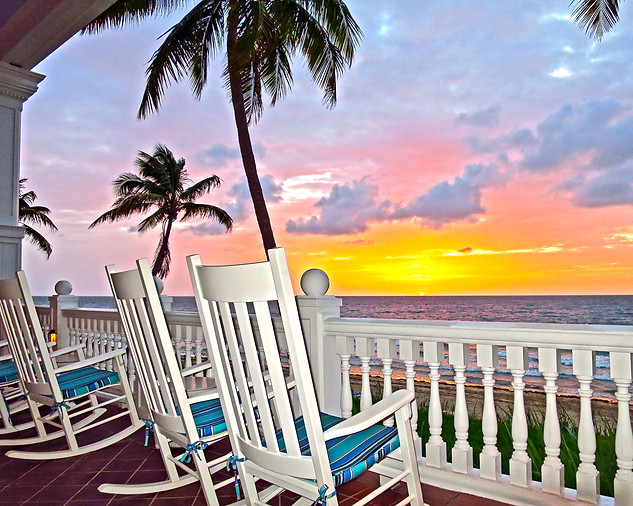 Grand Sunrise on the Veranda