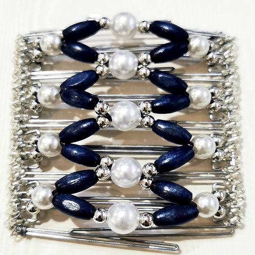 Navy Pearl Ball
