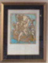 "Pablo Picasso ""Eiffel Tower Anniversary"