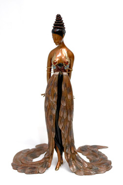 Feather Gown 1990