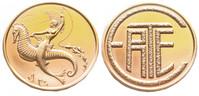 Seahorse Erte Art Medallion