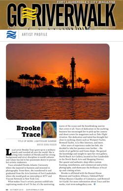 Go Riverwalk Artist Feature Brooke Trace 2016