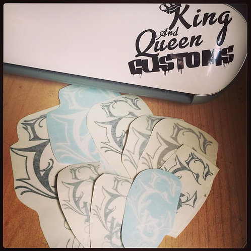 Vinyl stickers 7 Inches (Matt Sign Vinyl)