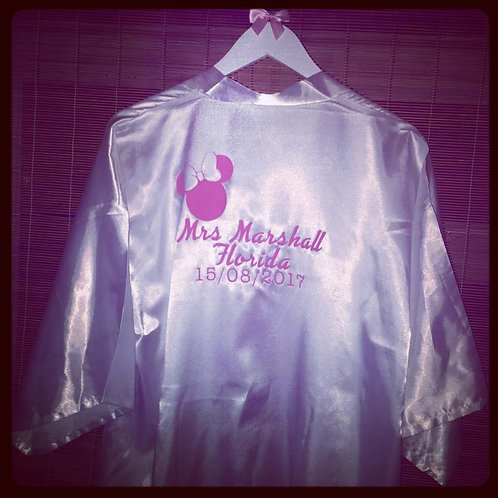 Satin Robe/Dressing Gown