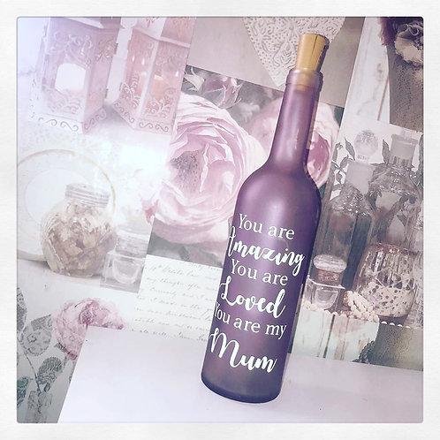 Mum Light Up Bottle