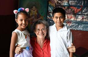 senior and 2 grandchildren nery-monteneg
