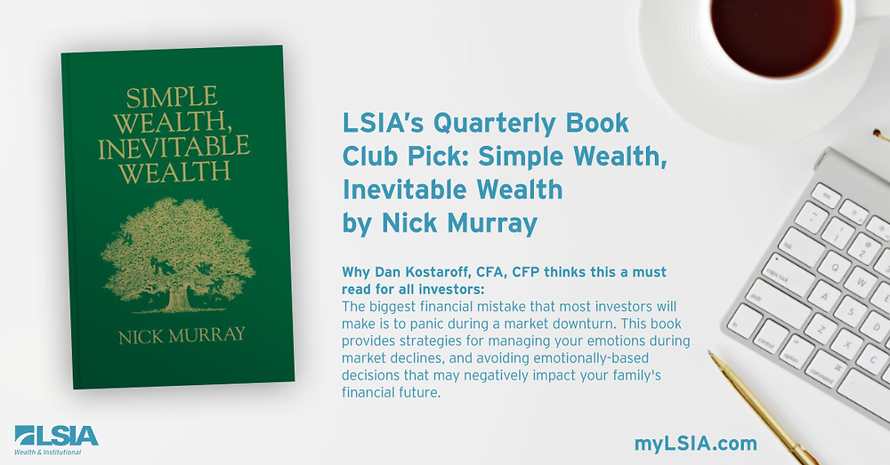 It's a complete coincidence that we recently recommended this book, but now, more than ever, it's a must read. Your investments will thank you.
