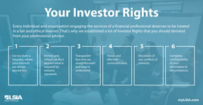Six standards you should demand from your financial advisor