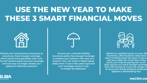Use the New Year to make these 3 smart financial decisions
