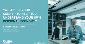 Our team focuses on your personal economy so you're not troubled by the global one.