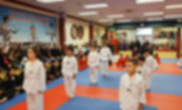 taekwondo martial arts beginner class