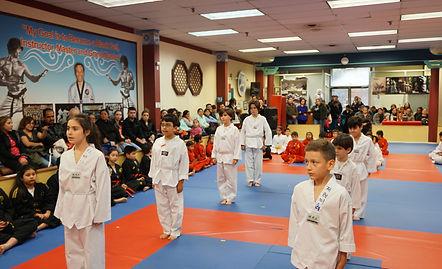 taekwondo martial arts beginner class