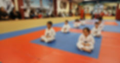 taekwondo martial arts kids meditation