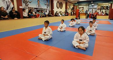taekwondo martial arts kids meditation