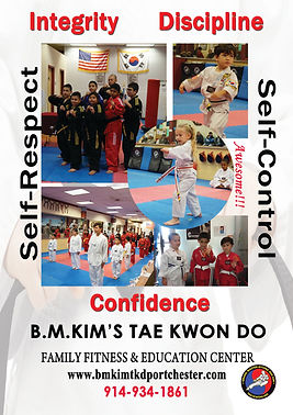 contact us Taekwondo B. M. Kim's Taekwondo at Port Chester