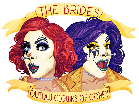 Outlaw Clowns of Coney Magnet