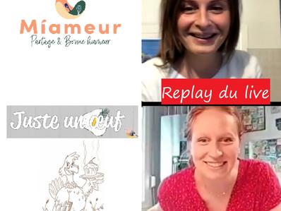 """Live """"Ceviche de fraises, haricots verts et nectarine au lait de coco"""" avec Miameur.com"""