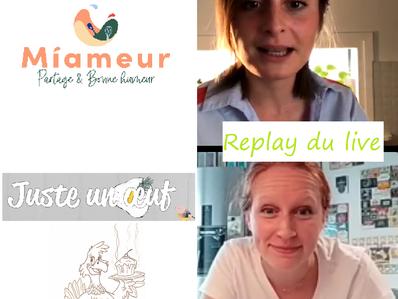 """Live """"courgettes grillées, sauce yaourt et vinaigrette à la tapenade"""" avec Miameur.com"""