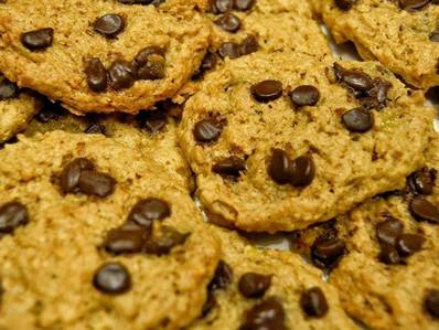 Cookies banane et beurre de cacahuète