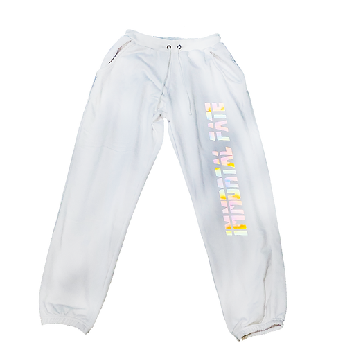 IF HOLOGRAPHIC TRACK PANTS