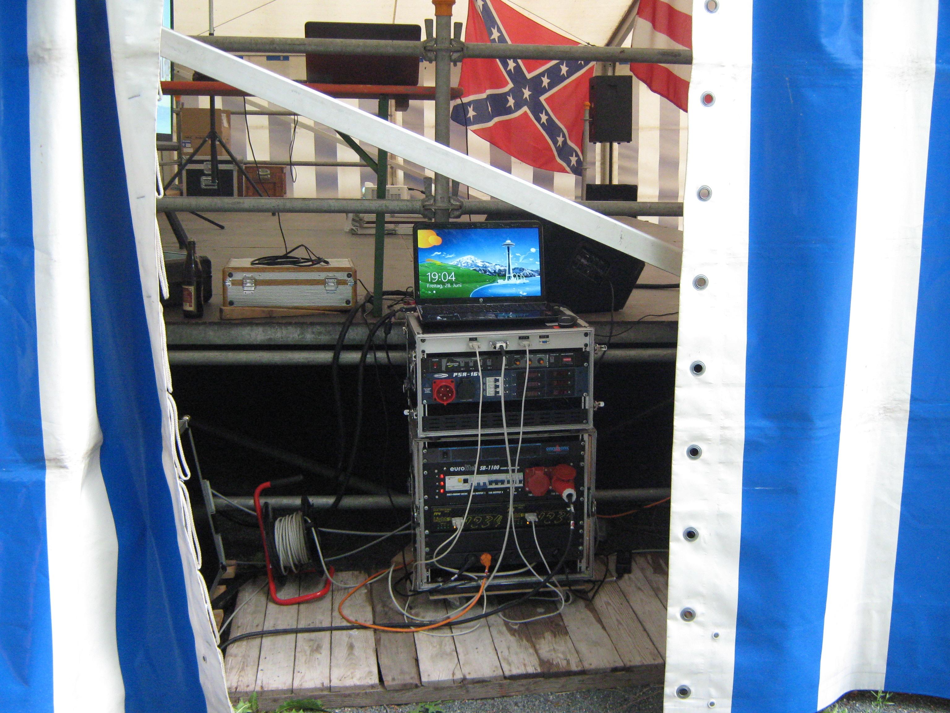 Powerrack zum Pfefferbergfest Schmölln