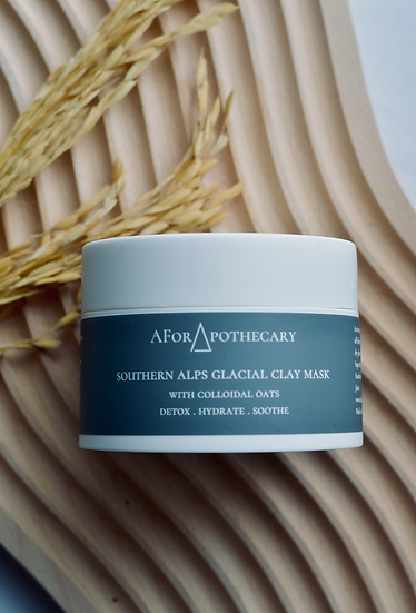 Nourish Clay Mask: Glacial Clay + Colloidal Oats