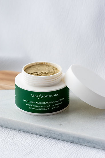 Southern Alps Glacial Clay Face Mask