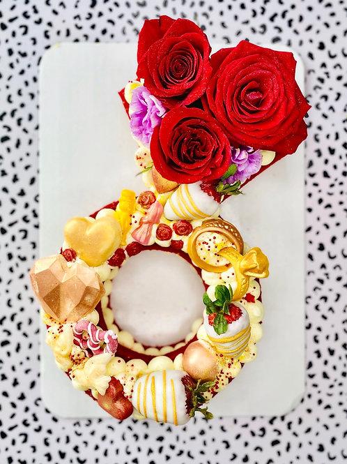 Custom Shape Cake
