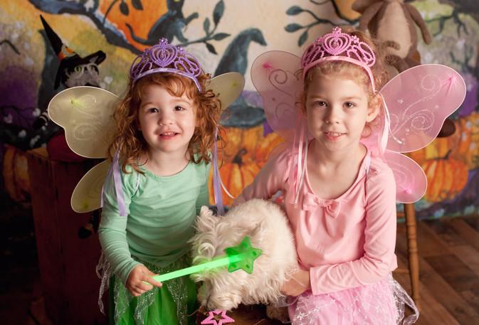 halloween mini fairy sisters