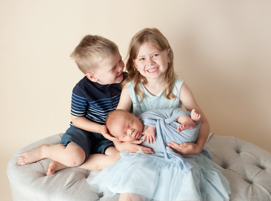Newborn siblings