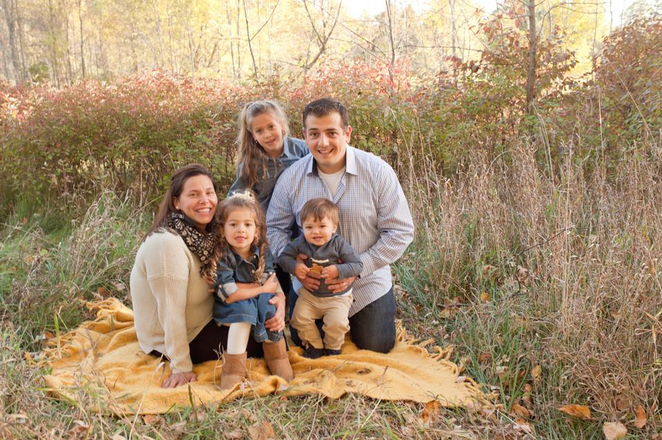 golden hour golden light family
