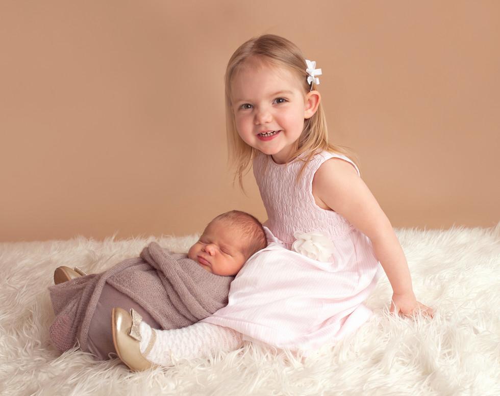 Newborn sibling