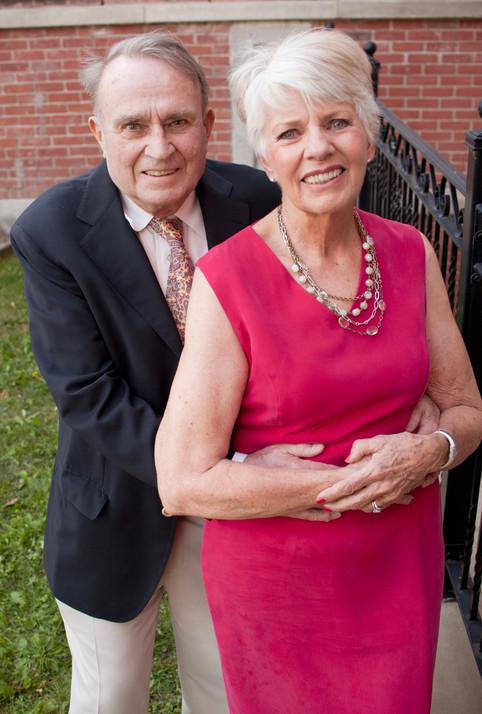 senior couple anniversary