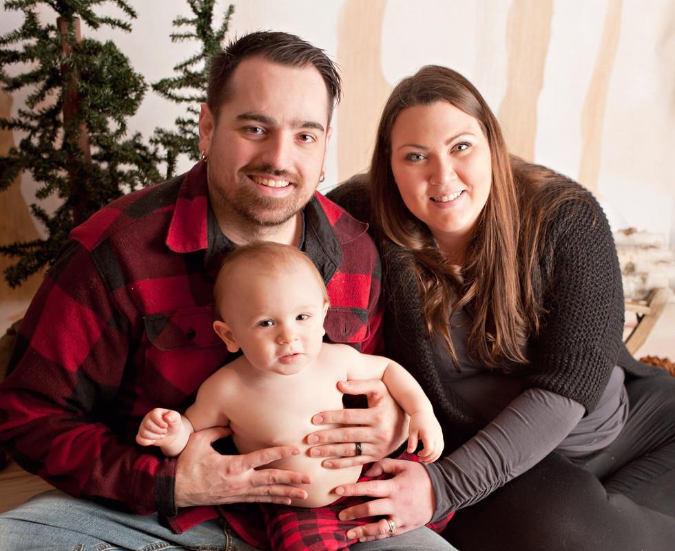 family first birthday lumberjack birthday