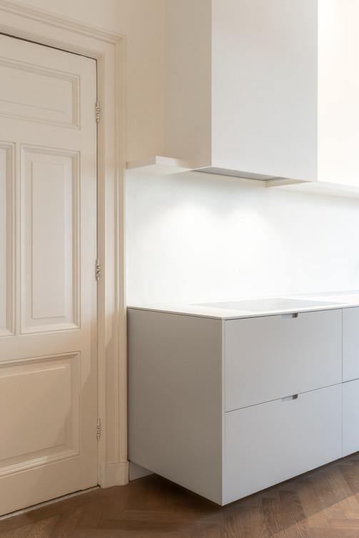 Kitchen Amstel Amsterdam / design by Thomas Bennen