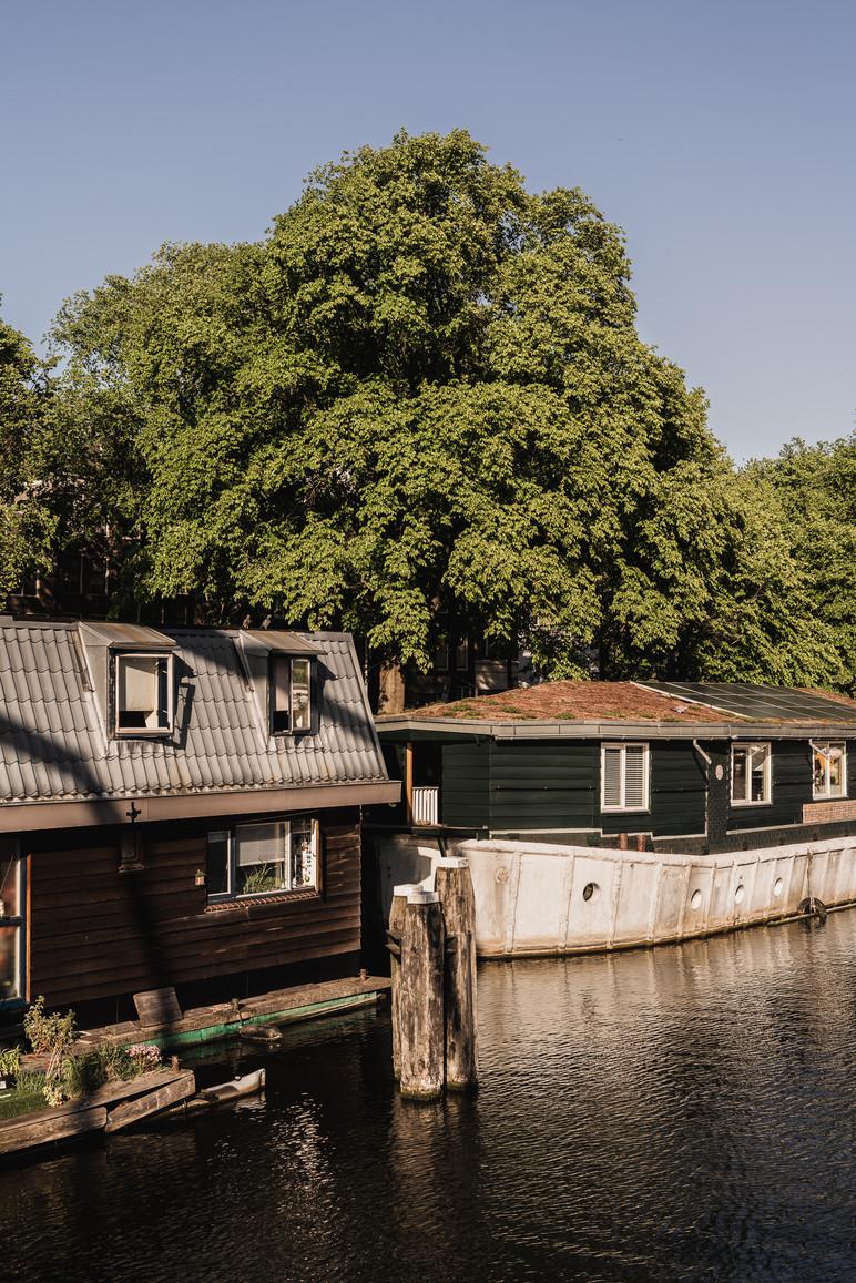 Amsterdam Boat houses