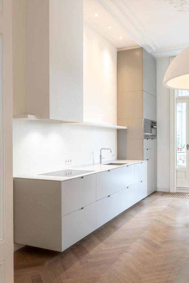 Bespoke kitchen / Amstel Amsterdam / design by Thomas Bennen
