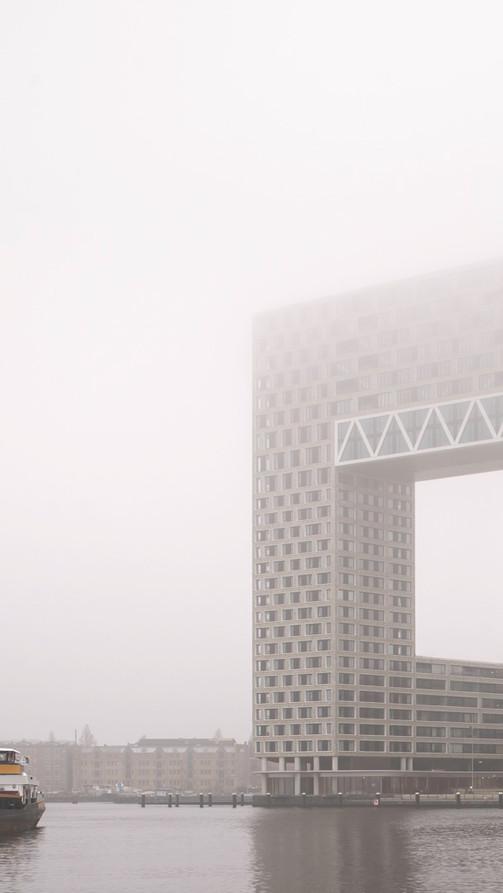 Pontsteiger / Amsterdam Houthavens / Arons en Gelauff Architecten