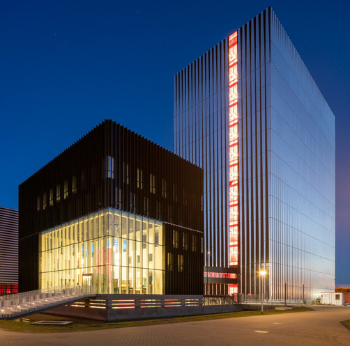 Datacenter Equinix / Amsterdam / Benthem Crouwel