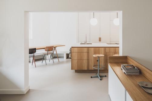 Kitchen / Oostenburg Amsterdam / Jonna Klumpenaar