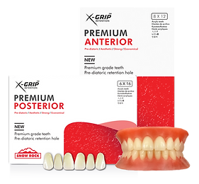 Premium Resin Teeth