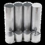 Denture Aluminum Tube