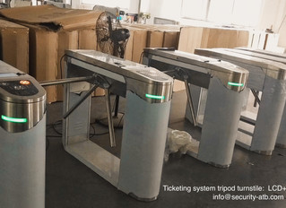 Ticketing System Tripod Turnstile Gates