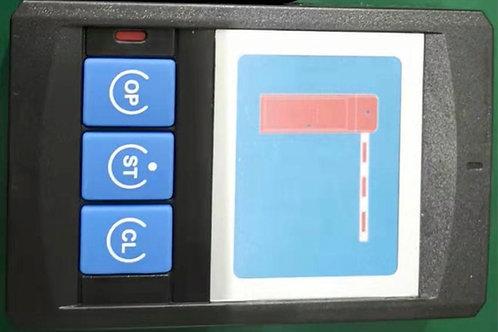 Gate manual button for desk top