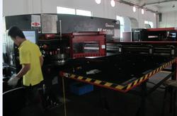 AMADA laser cutting-ATB  metal workshop