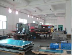 Metal plate workshop scene