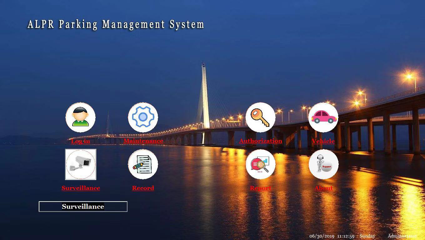 LPR parking management software