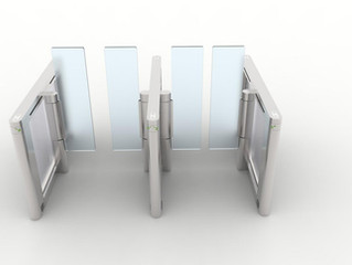 Extra high & wide Speed Gate