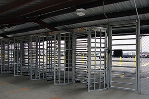 highly secured full height turnstiles,prison,stadium,school applications